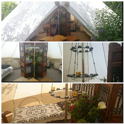 Wow! Beautiful, luxurious bell tent - Rush - Bed & Breakfast