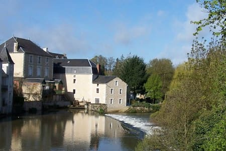 Cosy Mill off A10 south of Poitiers - Civray - Talo