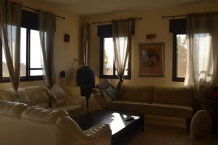 cozy house w/amazing sea view 120m - Gesher HaZiv - Apartemen