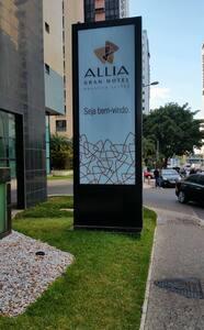 Apartamento no Allia Hotel.