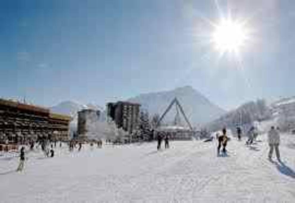 Front de neige office du tourisme ESF