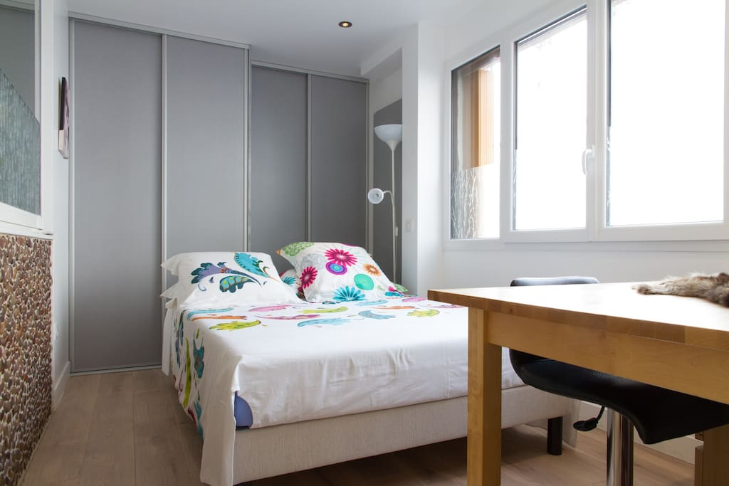 Modern Bedroom with double glazing