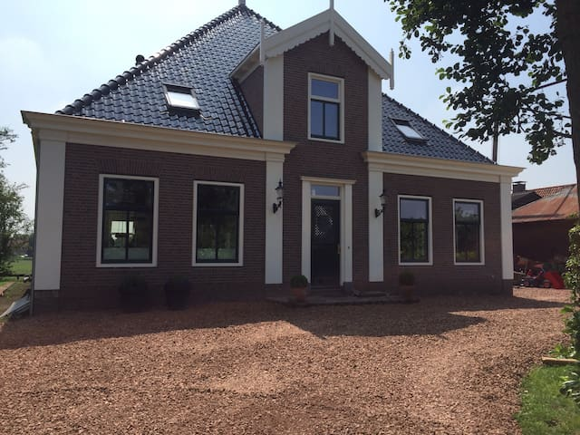 Room in our new build farm/villa - Amsterdam - Villa