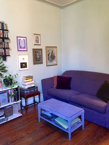 Charming & Colorful 1BR in Brooklyn