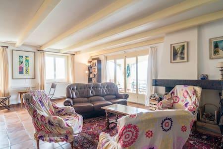 bel appartement au bord du lac  - Nernier - Lejlighed
