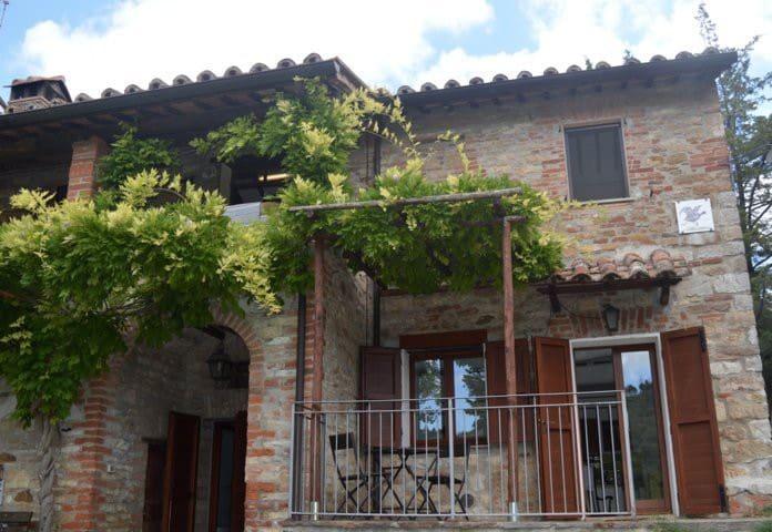 Antica Cantina panoramica Trasimeno - San Savino - Apartamento