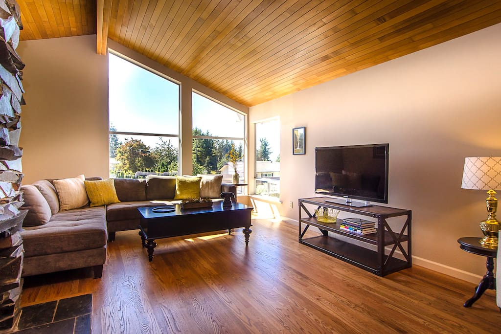 Spacious mid century modern view home houses for rent in for Modern view homes