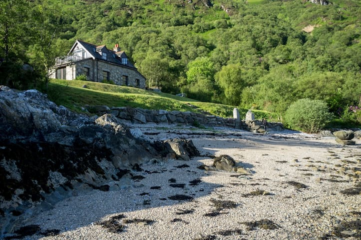 The Point Cottage, Loch Striven - Dunoon, Argyll - House