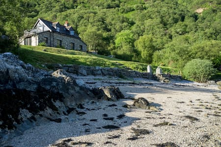 The Point Cottage, Loch Striven - Dunoon, Argyll