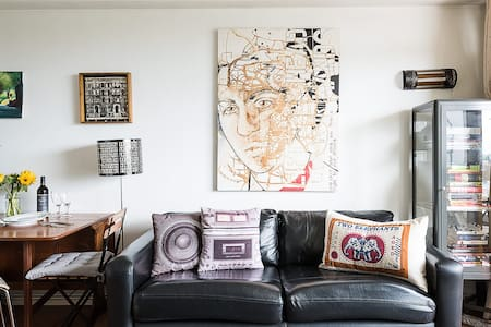 NEW! Arty 1BR Shoreditch Apartment on Columbia Rd - London