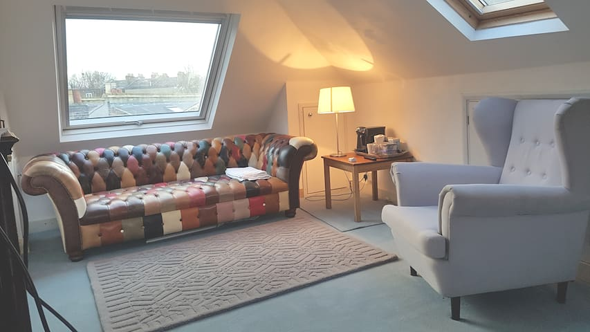 Close to central London. Big room in  trendy SE15.