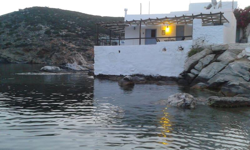 Mooring Place in Sifnos - Faros - Villa