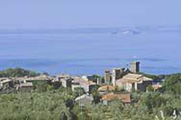2 Bungalow-Zelte (10Pers)direkt am Lago di Bolsena