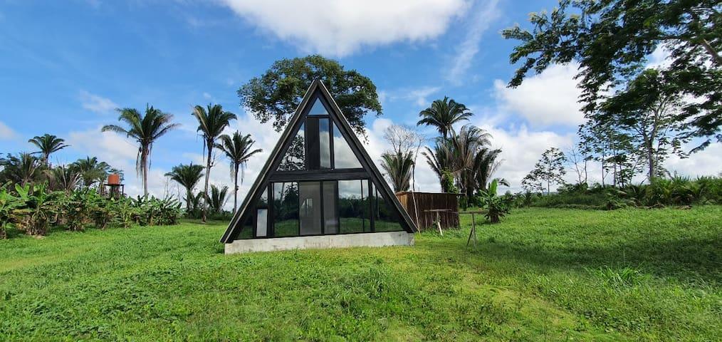 Solar Power Sugar Lodge A-Frame