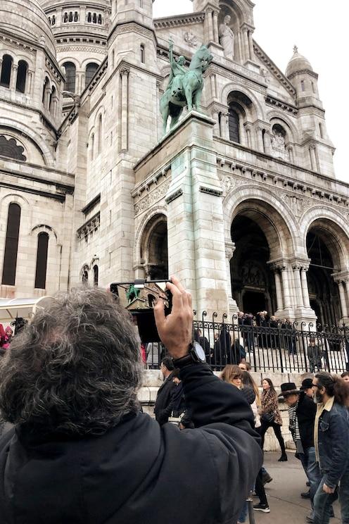Mostrar la imagen proporcionada por el anfitrión a pantalla completa