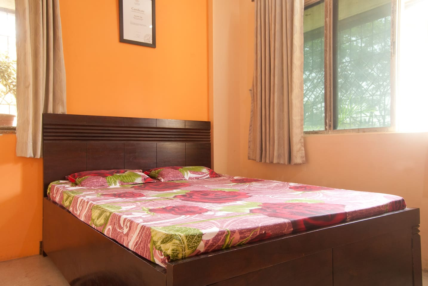 Your Bedroom: Married and unmarried both are welcome. Clean, cool, calm, and safe for solo women travellers too.