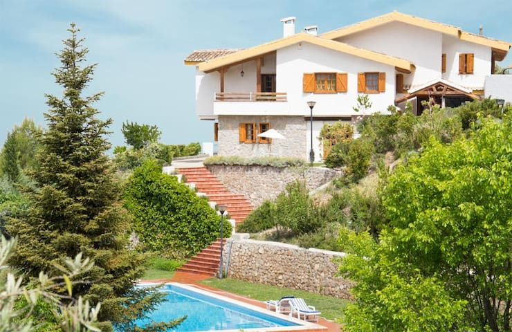 Luxury villa to share with family and friends - Viznar - Apartamento