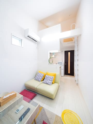 New Open licensed Apt. Ikebukuro West exit, Wi-fi