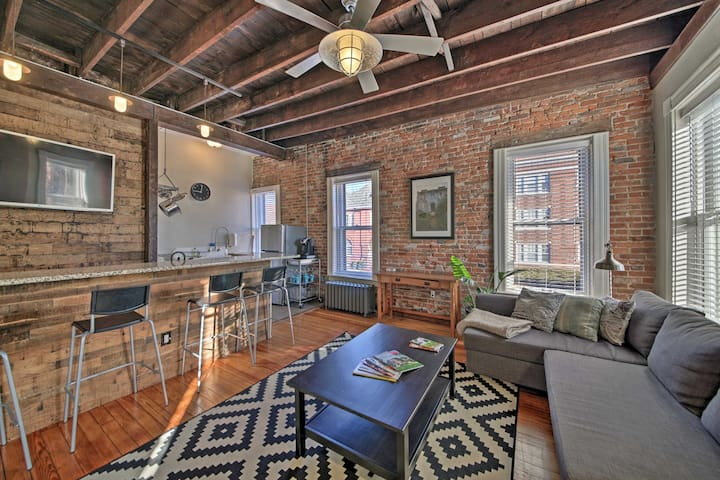 NEW! Central STL Chic Apartment in Tower Grove!