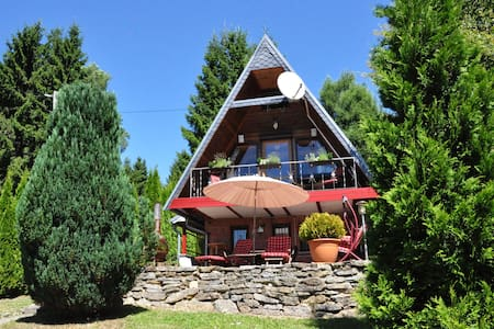 Finnhütte im Thüringer Wald/ Suhl - 苏尔 - 小平房