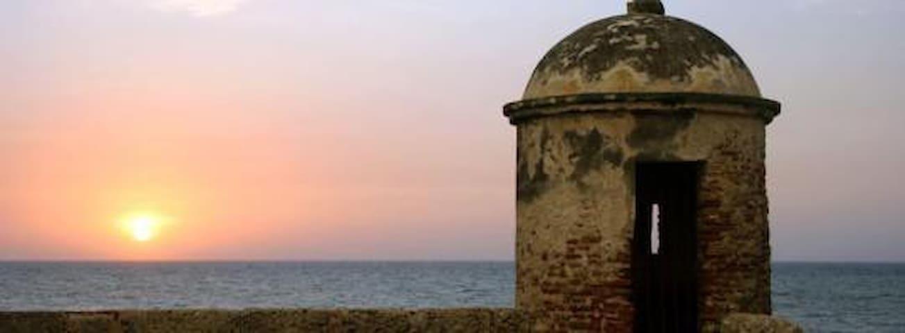 Aparta estudio centro histórico - Cartagena - Apartment
