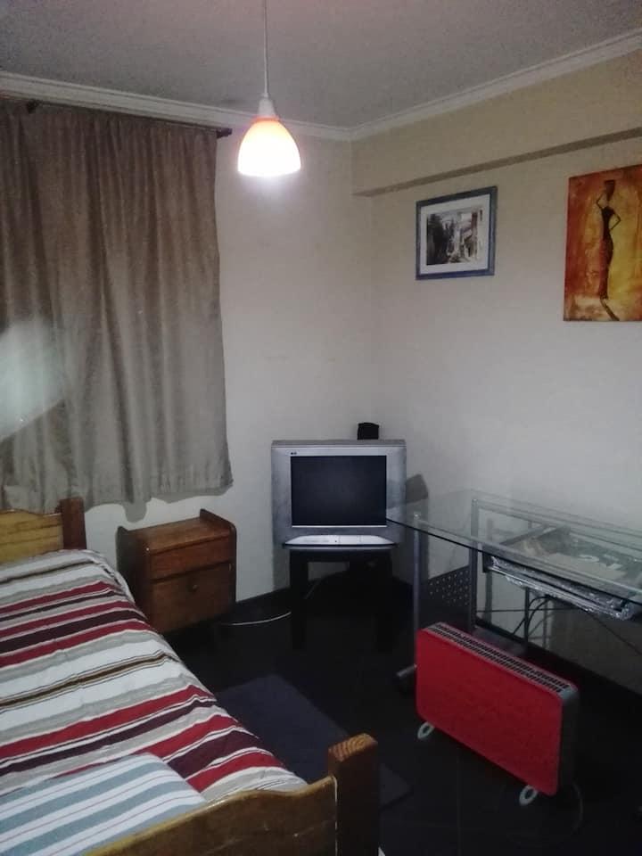 Habitación Individual y acogedora.