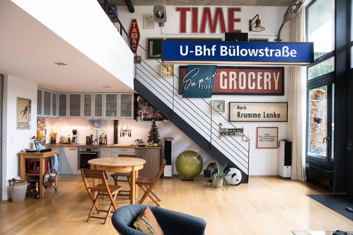 modern loft apartment Berlin Rummelsburger Bucht