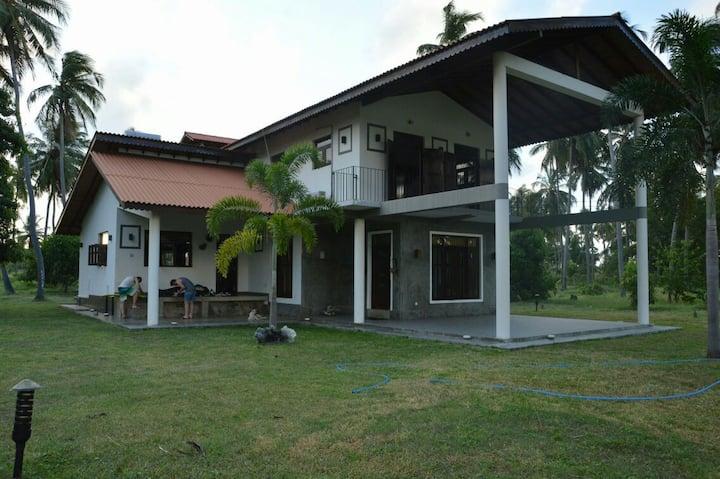 Spacious villa in Kalpitiya for Kitesurfing