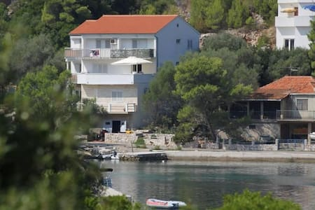 Studio flat with balcony and sea view Pasadur, Lastovo (AS-8351-a) - Pasadur