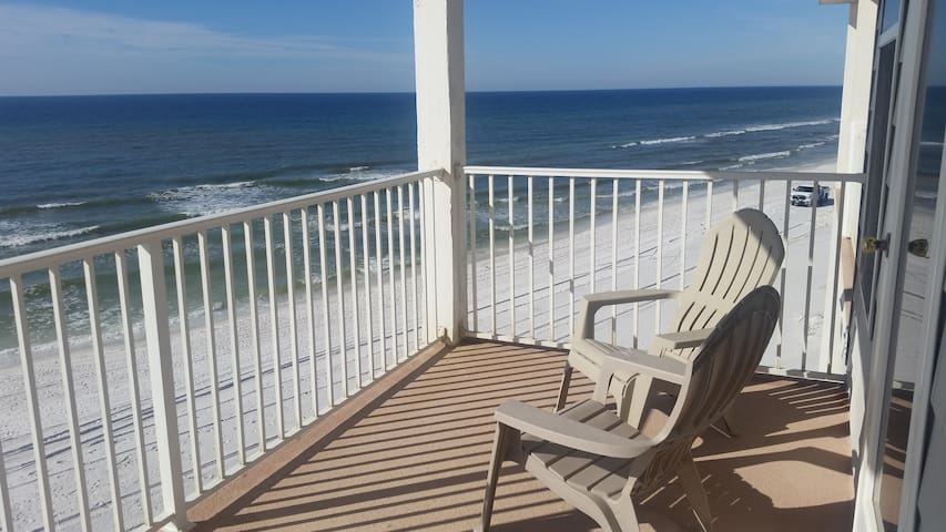 Beachfront Balcony 30A King Master - Santa Rosa Beach - Hus