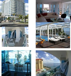 Luxury Ocean View Apartment - 聖多明哥