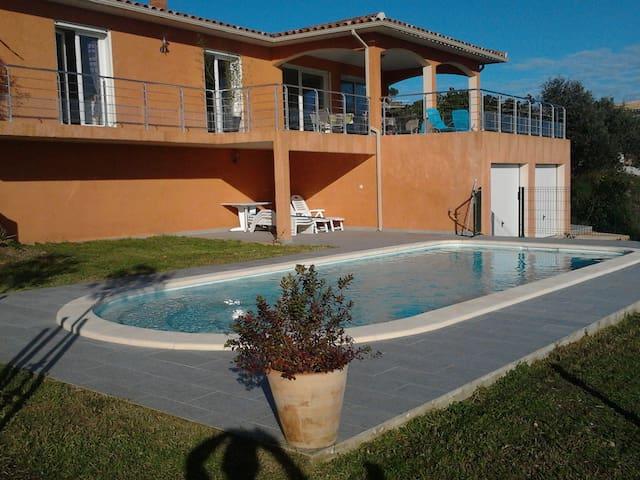 Magnifique villa Haute Corse avec piscine - Ventiseri - Casa