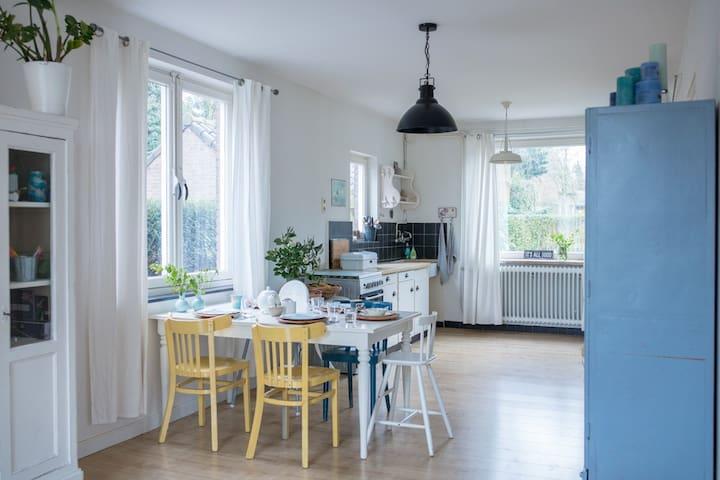 Kindvriendelijk huis met tuin