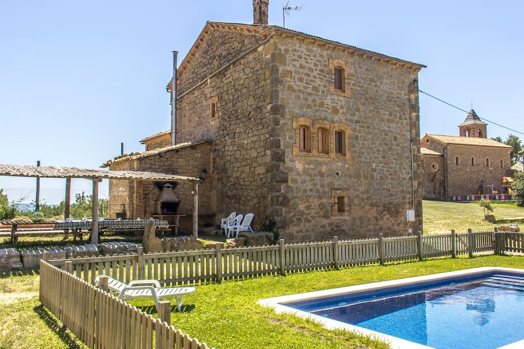 Catalunya casas villa tradicional catalana para 15 personas en el paraje natural de vilaseca - Natura casa barcelona ...