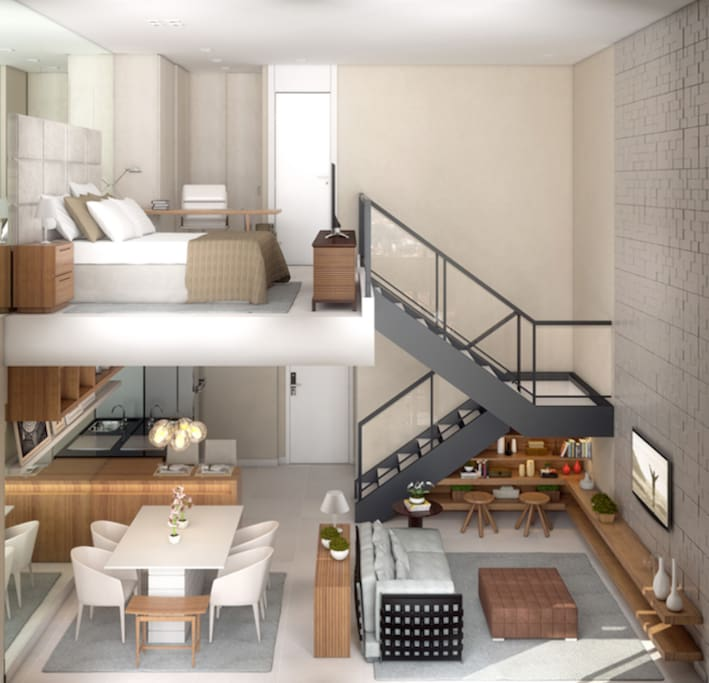 Layout Apartamento  (no real foto)