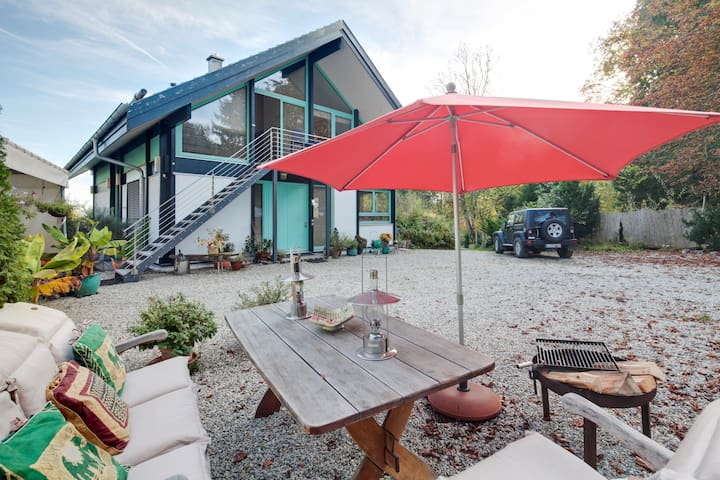 Moderne Loft Wohnung mit Seeblick - Utting - Çatı Katı