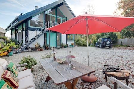 Moderne Loft Wohnung mit Seeblick - Utting
