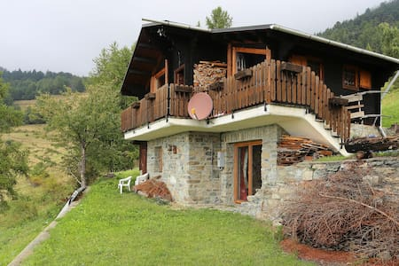 wonderful chalet near Matterhorn - Torgnon - Cabin