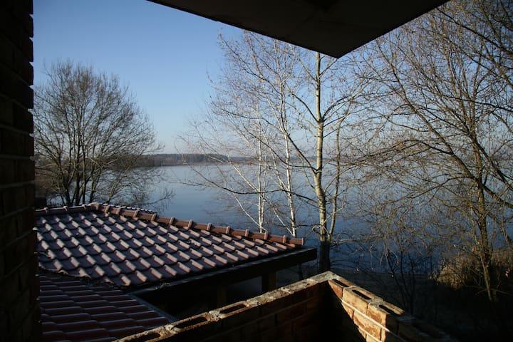 Дом-баня на Нарских прудах - Asakovo - Huis