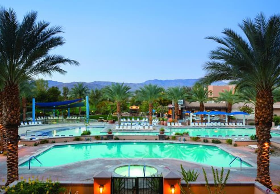 Marriott villa coachella weekend 2 villas for rent in for Villas california