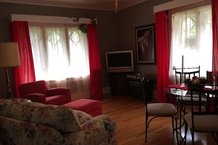 Biz Class Apt w Conf Room - Rockford - Bed & Breakfast