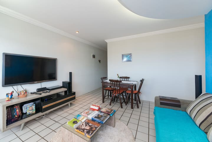 Apartamento amplo perto de Olinda - Paulista - Flat