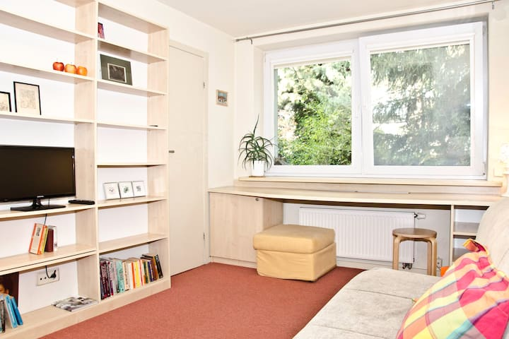 Garden Studio Apartment not far from City Centre - Warsawa - Apartemen