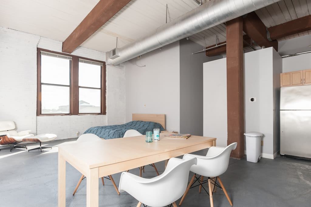 Beautiful Downtown Loft Apartments For Rent In Saint