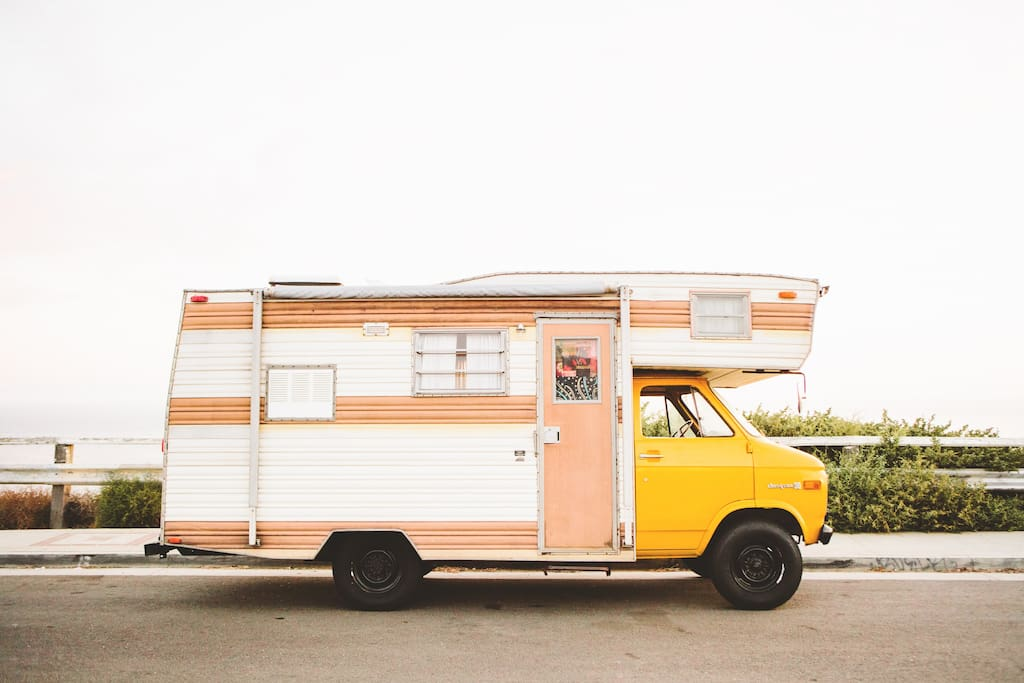 Vintage Bohemian Rv Glamp In La Campers Rvs For Rent
