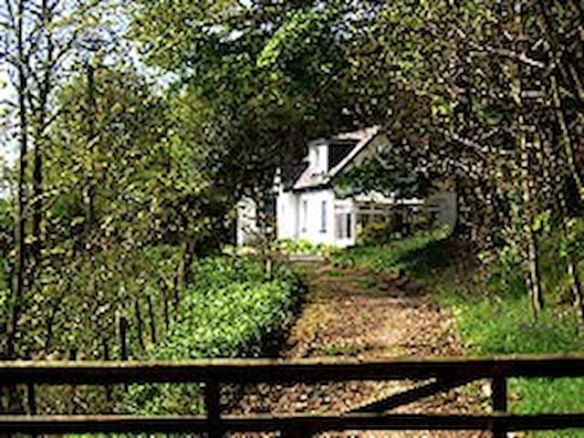 Bar Hill Lodge - secluded cottage - Gatehouse of Fleet - Casa