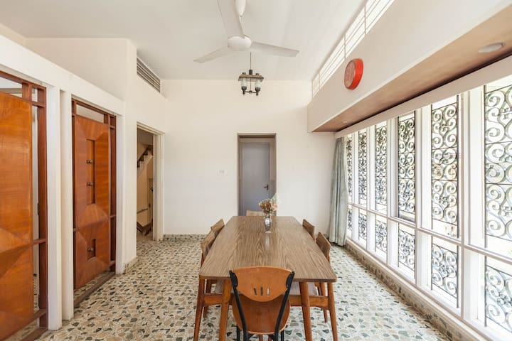 Cozy B&B@ 3km from brigade rd - Bangalore - Huis
