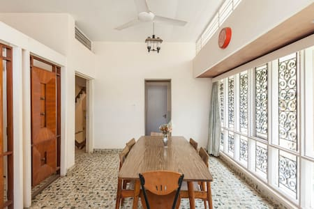 Cozy B&B@ 3km from brigade rd - Bangalore - Maison