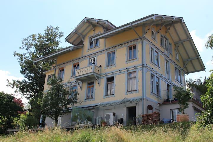 Jugendstilhaus Edelweiss (1895) - Aeschi bei Spiez - Apartemen