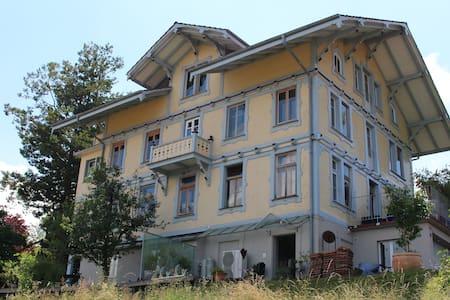 Jugendstilhaus Edelweiss (1895) - Aeschi bei Spiez - Lägenhet